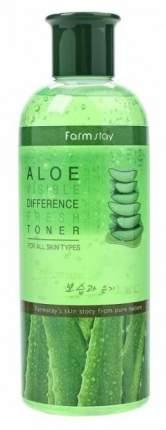 Тонер для лица FarmStay Visible Difference Fresh Toner Aloe