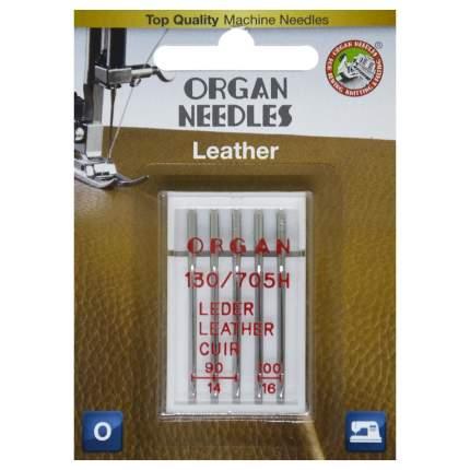 Иглы Organ для кожи 5/90-100 Blister