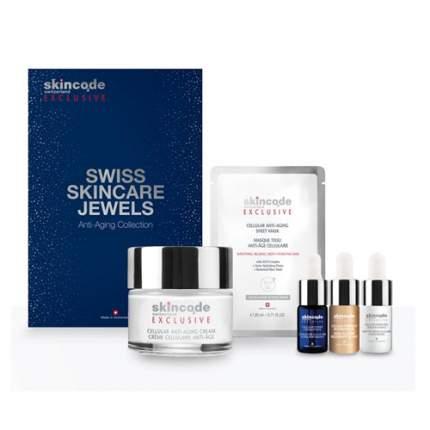 Набор Skincode Exclusive Швейцарские драгоценности по уходу за кожей