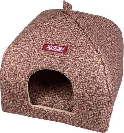 Домик для кошек, для собак Xody Виг-Вам №2, бежевый, 39x39x45см