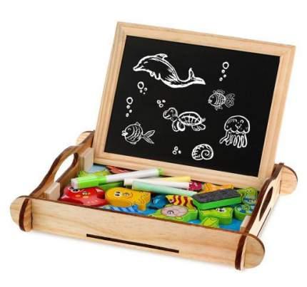 Доска для рисования MAPACHA Бизи-чемоданчик Рыбалка (76842)