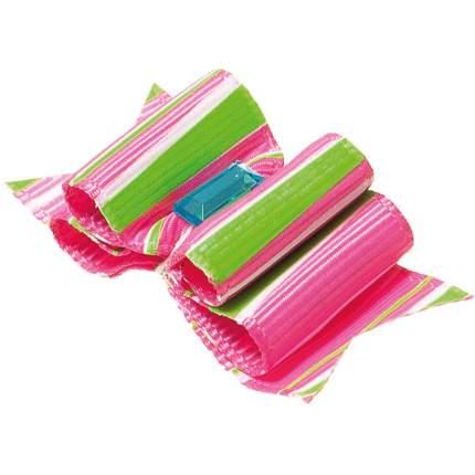 """Заколка для домашнего питомца ZooOne """"Ностальжи"""", 5,5x2,2 см, розовый/салатовый (2 штуки)"""