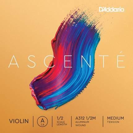Струна скрипичная D'Addario A312 1/2M Ascente