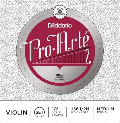 Струны для скрипки D'Addario J56 1/2M