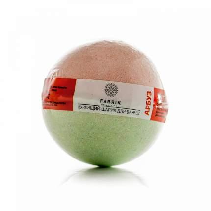 Бурлящий шарик для ванны Fabrik Cosmetology Арбуз 120 г