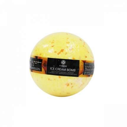 Бурлящий шарик с пенкой для ванны Fabrik Cosmetology Дынное Мороженое 120 г