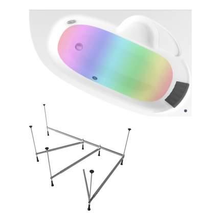Акриловая ванна Lavinia Boho Bell Pro S3-370214PR 140x95 правая с хромотерапией
