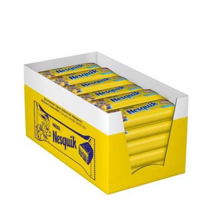 Батончик Nesquik шоколадный 28 г коробка 30 шт