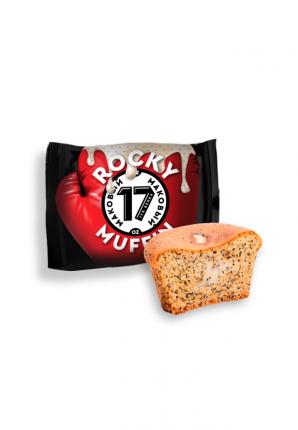 Кекс Muffin ROCKY с мягкой маковой начинкой 55г