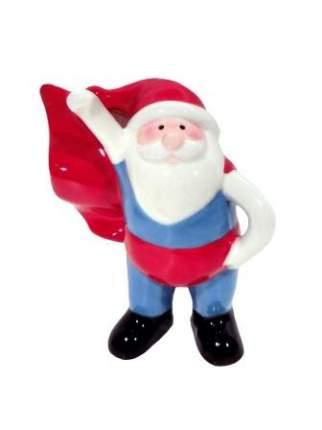 Новогодняя фигурка Супер Дед Мороз синий Феникс Present 81561