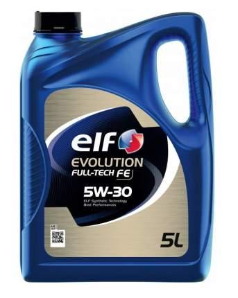 Моторное масло ELF EVOLUTION FULL-TECH FE 5W-30 5л (194908) 213935