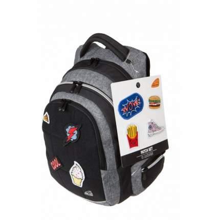 Рюкзак детский WALKER Patch Grey Серый 42107/75