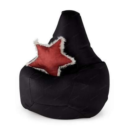 Кресло-мешок Шарм-Дизайн Кресло XL, черный