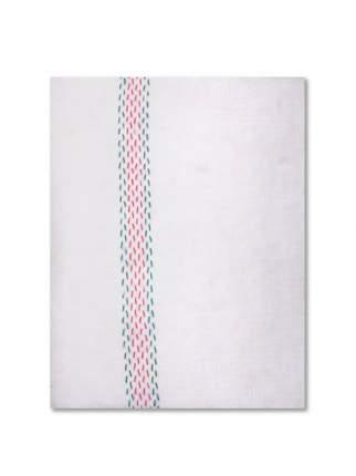 Тряпка для мытья пола AMARO HOME Хлопок с цветной просновкой 50*60 см