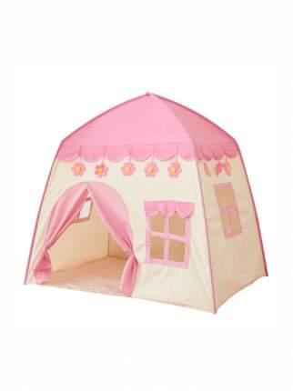 Игровая палатка Aiden-Kids Домик розовая