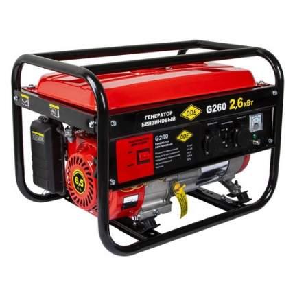 Бензиновый генератор DDE G260, 220, 2.6кВт [919-952]