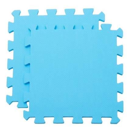 Мягкий пол универсальный ЭКОПРОМ голубой, 33х33 см
