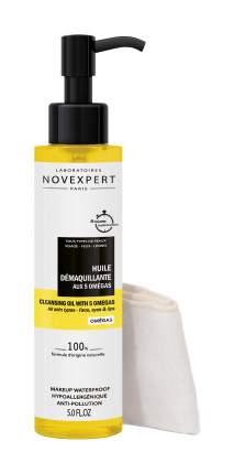 Масло для очищения кожи лица с омега кислотами Novexpert Cleansing Oil 150 мл