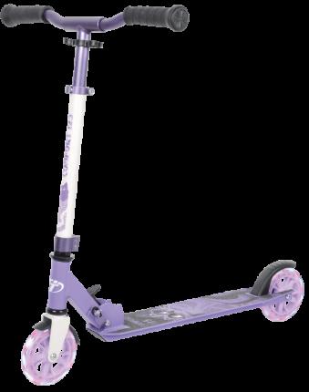 Самокат TechTeam 125R Comfort (2021) фиолетовый