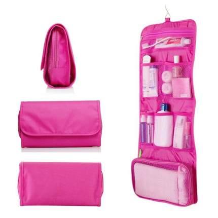 Дорожная сумка для гигиенических принадлежностей Travel Storage Bag (Цвет: Розовый  )