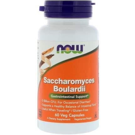 Now Saccharomyces Boulardii капсулы 60 шт.