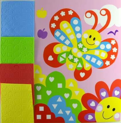"""Мозаика мягкая для самых маленьких, """"Бабочка"""", 21х30 см"""