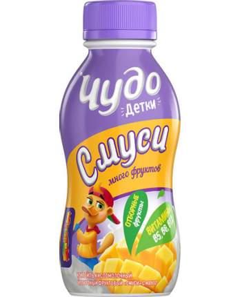 Коктель йогуртный Чудо детки смузи клубника 2.2% 200 г