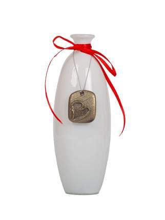 """Ваза-бутылочка малая """"Пуаро"""" h176 d65 бел Evis"""