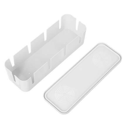 Короб органайзер для хранения проводов белый 26,5х9,5х7 см Blonder Home BH-BOX1-02