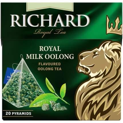 Чай Richard Royal Milk Oolong молочный улун 20 пирамидок