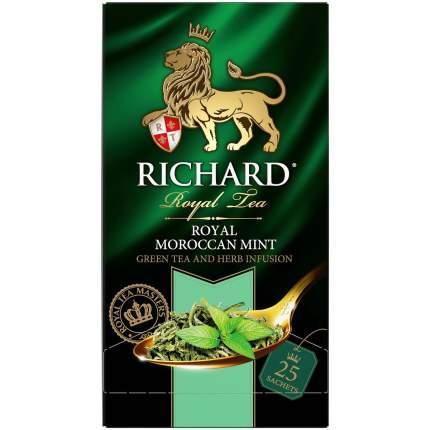 Чай Richard Royal Morrocan Mint зеленый с марроканской мятой 25 пакетиков