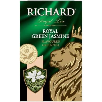 Чай Richard Royal Green Jasmine зеленый с жасмином листовой 90 г