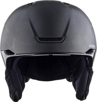 Горнолыжный шлем Alpina Parsena 2021, black matt, XL