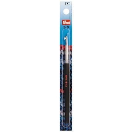 Крючок для вязания с цветной ручкой, алюминий, 5 мм x 14 см, Prym арт.195178