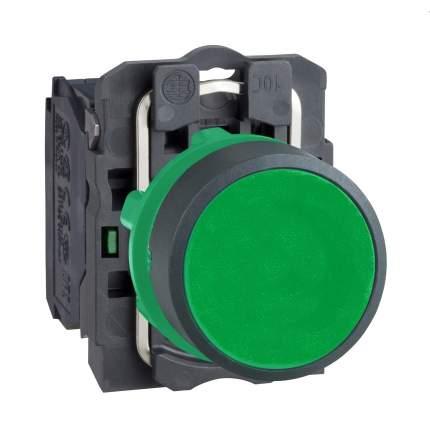 Кнопка Schneider Electric 22мм с возвратом зеленый XB5AA31