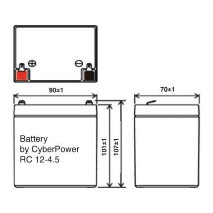 Аккумулятор для ИБП Cyberpower SS RС 12-4.5