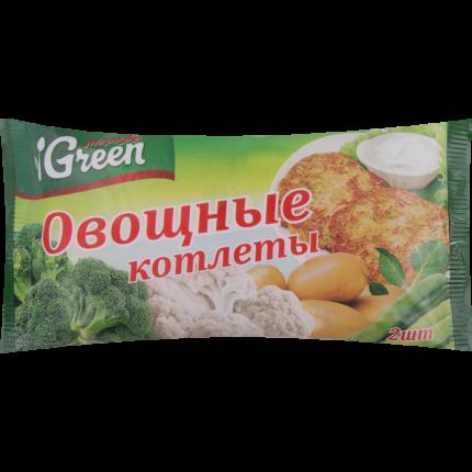 Котлеты Морозко Green овощные