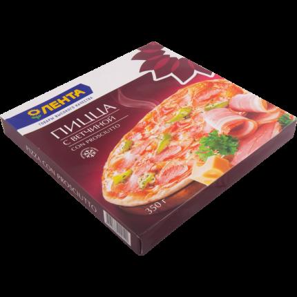 Пицца Лента с ветчиной