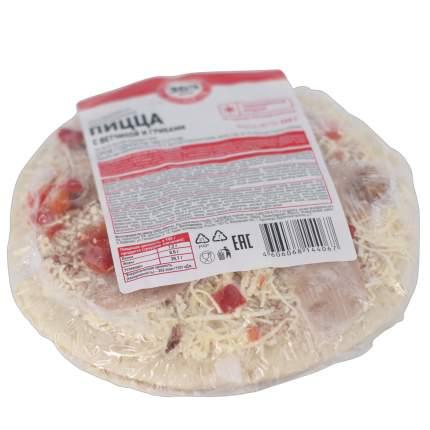 Пицца 365 Дней с ветчиной и грибами