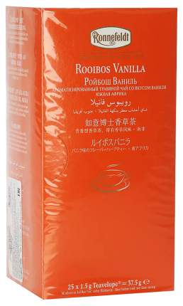 Чай травяной Ronnefeldt Teavelope Ройбуш ваниль 25 х 1.5 г Республика Сербия