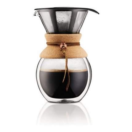 Кофейник кемекс Bodum Pour Over и многоразовым сито-фильтром, 1л, 11682-109