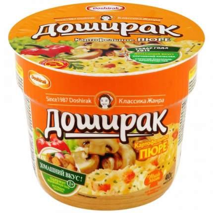 Пюре Доширак картофельное со вкусом грибов