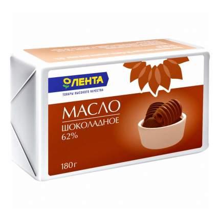 Сливочное масло Лента шоколадное 62 % 180 г
