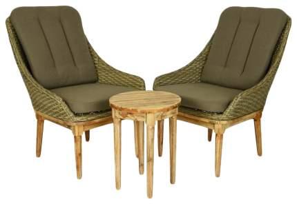 Набор садовой мебели Kaemingk Канны 169847-Kaemingk brown; gray 3 предмета