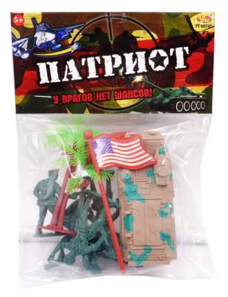 Игровой набор Abtoys Военный набор Патриот 9 пр., 104725-TN