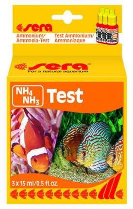 Тест для воды Sera NH4 NH3 TEST на аммиак и аммоний 10 мл