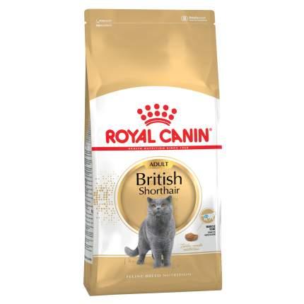 Сухой корм для котят ROYAL CANIN British Shorthair Adult, британская, домашняя птица, 4кг