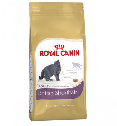 Сухой корм для кошек ROYAL CANIN British Shorthair Adult, британская, домашняя птица, 4кг