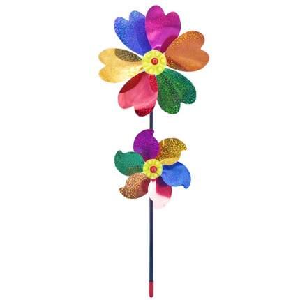 Ветрячок Junfa toys Два цветочка 18см 136023-TN