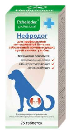 Пчелодар Нефродог для собак комплексная профилактика МКБ 25 таб